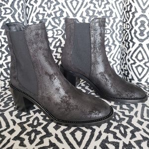 Jimmy Choo Merril Wetlook Suede Boots